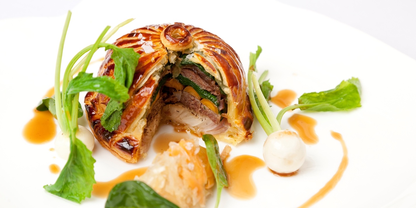 ox cheek pithivier recipe great british chefs