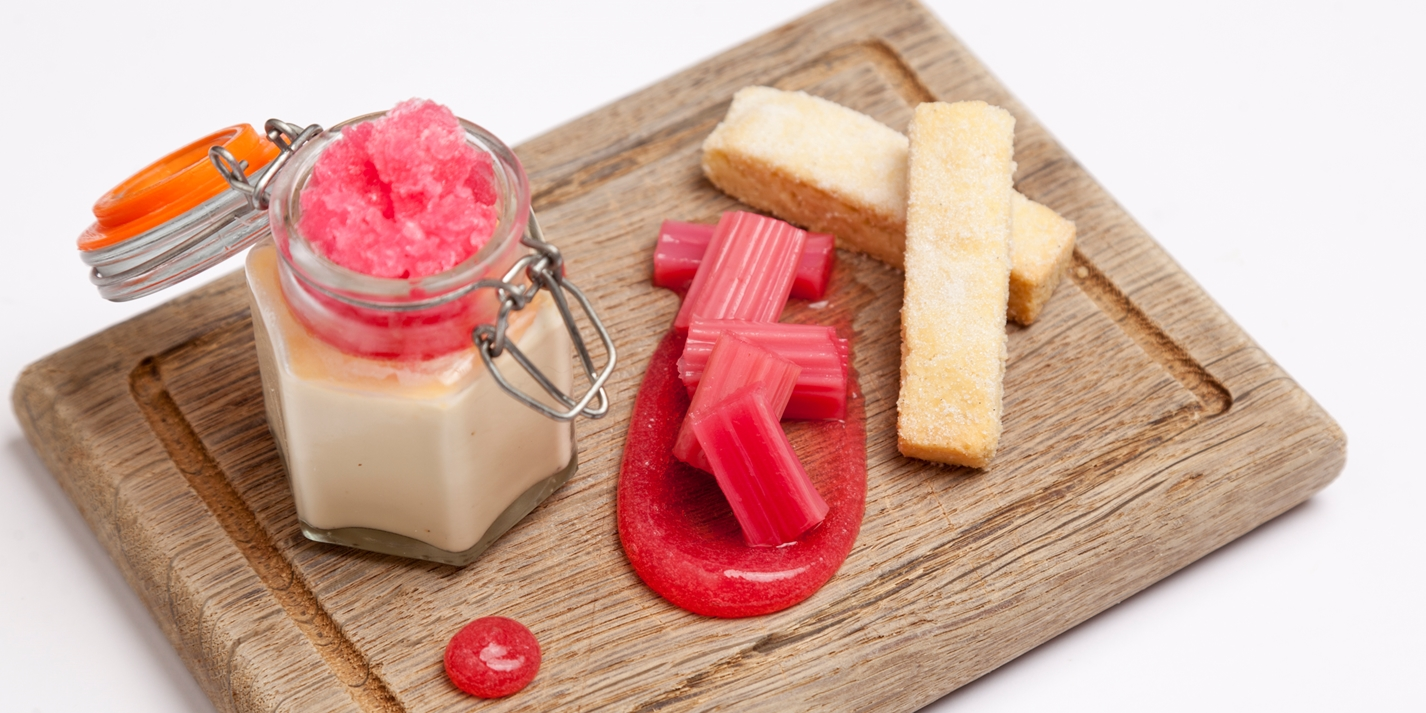 How to make rhubarb granita
