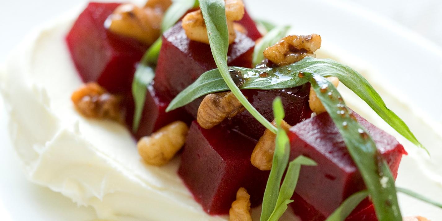 Smoked Beetroot Salad Mascarpone Amp Tarragon Great