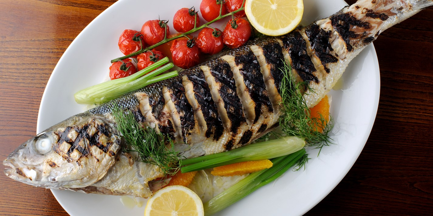 Grilled Sea Bass Recipe With Fennel Amp Dill Great British Chefs