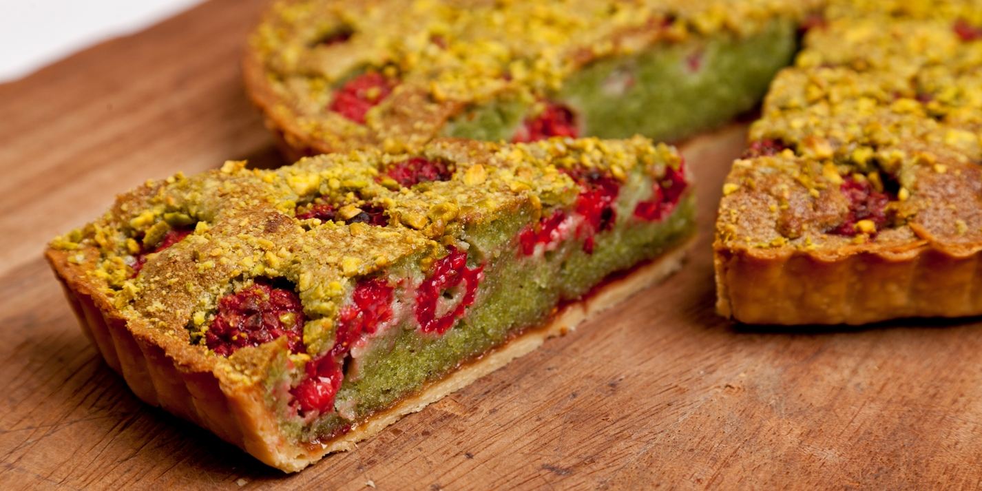 Pistachio Bakewell Tart Recipe - Great British Chefs