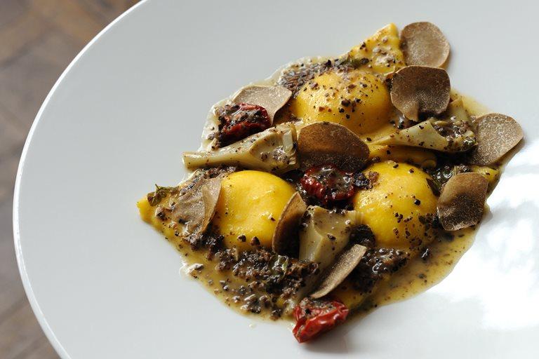 Polenta Ravioli Recipe Great British Chefs