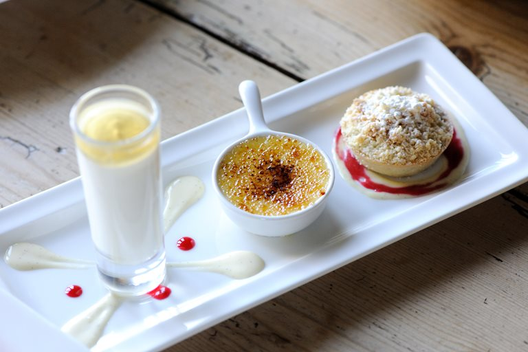 Pudding Ideas For Dinner Party Part - 27: Trio Of Apple Desserts