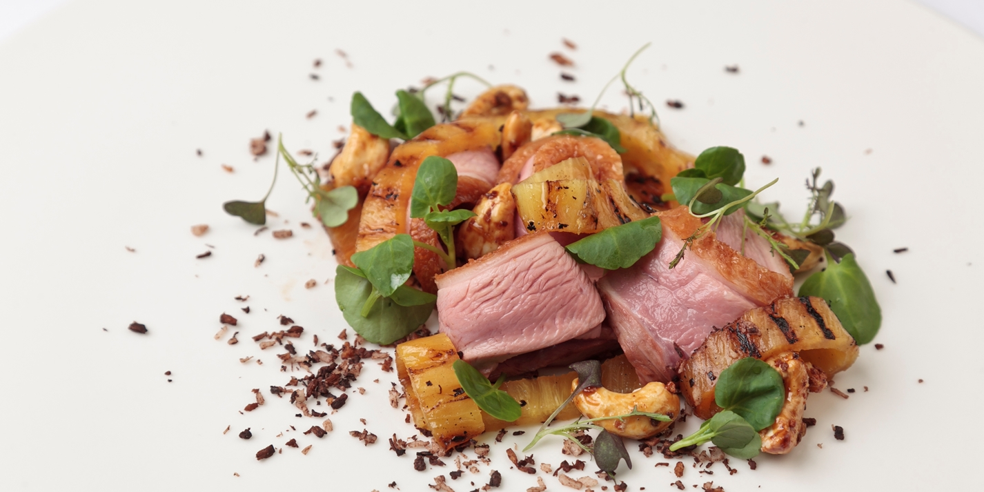 Duck With Pineapple Recipe Great British Chefs