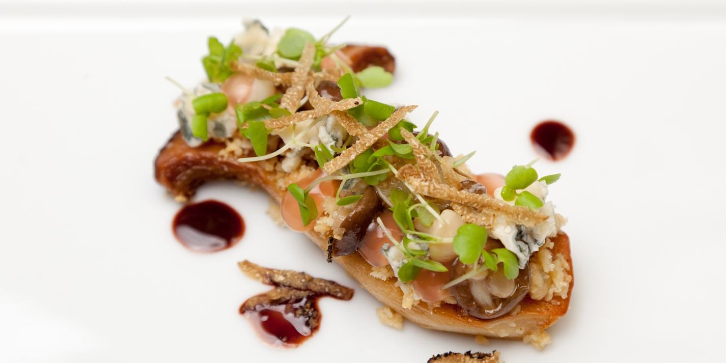King Oyster Mushroom Recipe - Great British Chefs
