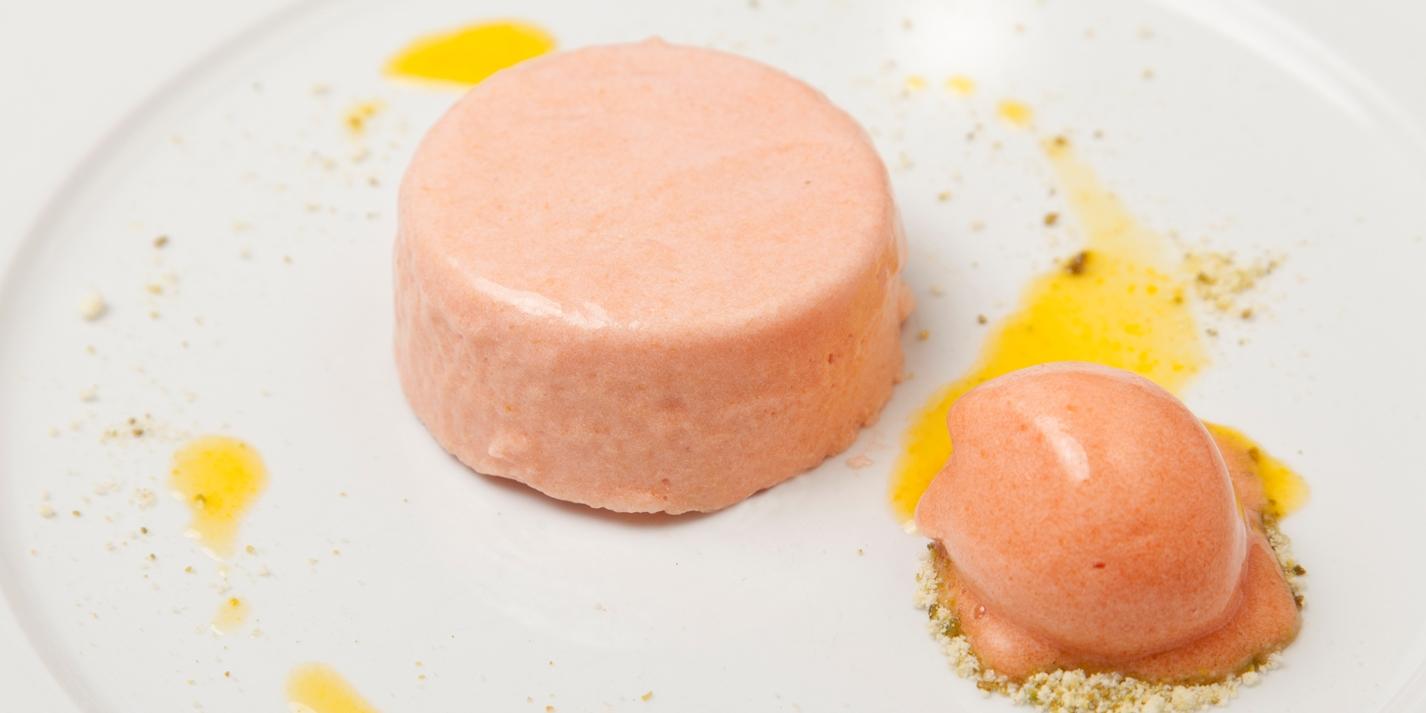 Blood Orange Mousse Cake Recipe