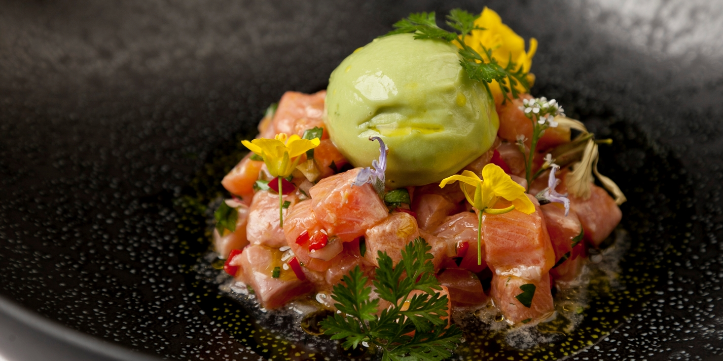 How to make trout ceviche