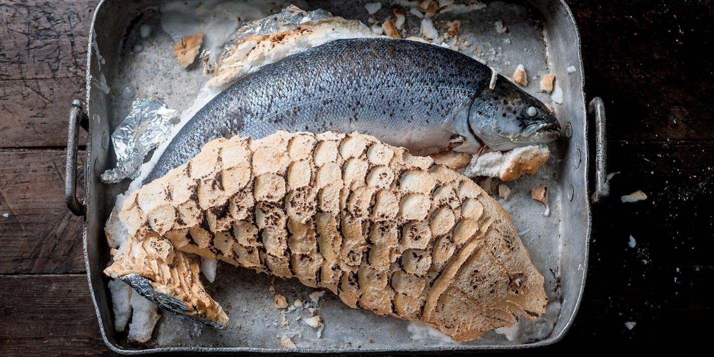 Salt Baked Salmon Recipe Great British Chefs