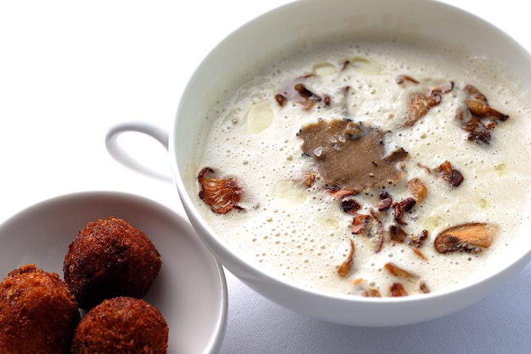 Jerusalem Artichoke Soup Recipe Great British Chefs