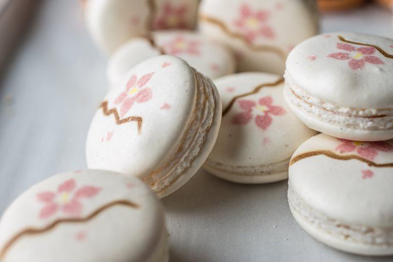 Cherry Macaron Recipe Great British Chefs