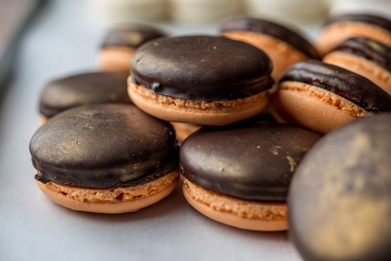 Jaffa Cake Macaron Recipe Great British Chefs
