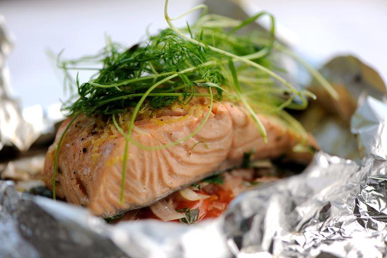 Salmon En Papillote Recipe Great British Chefs