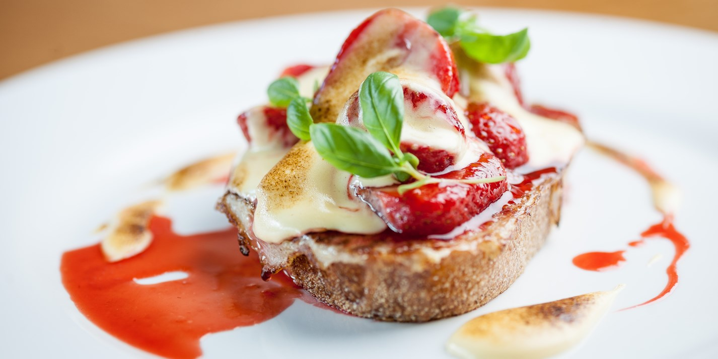 Eggy Bread with Strawberries Recipe - Great British Chefs