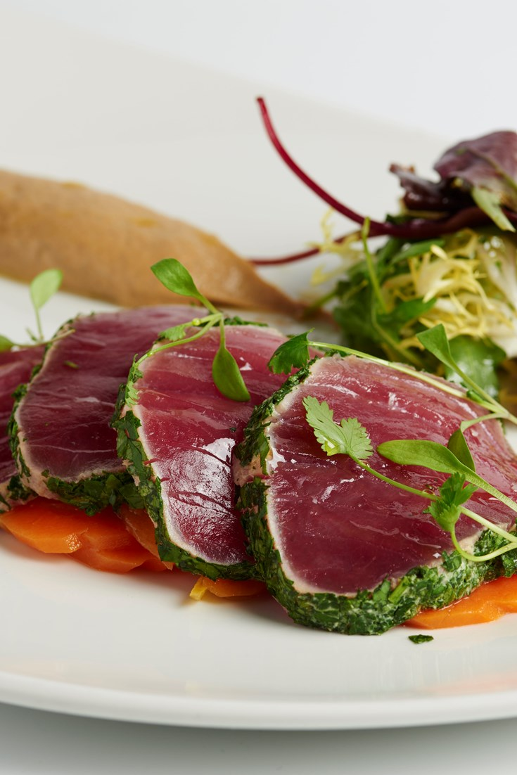 Escabeche of tuna recipe great british chefs for Fish escabeche recipe