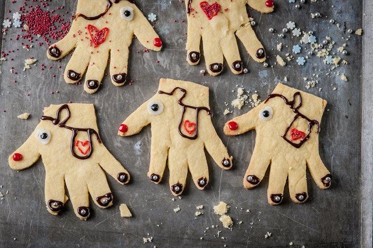 Reindeer Christmas Cookies Recipe Great British Chefs