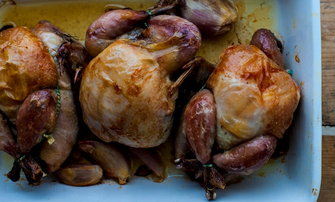How to cook quail