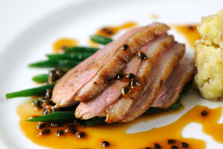 Easy duck breast recipes