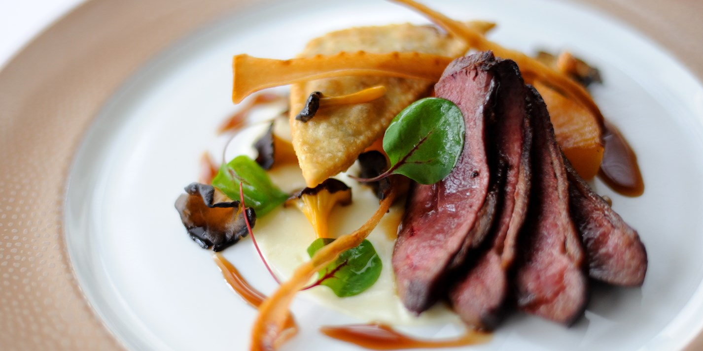 how to cook duck breast fillets in the oven