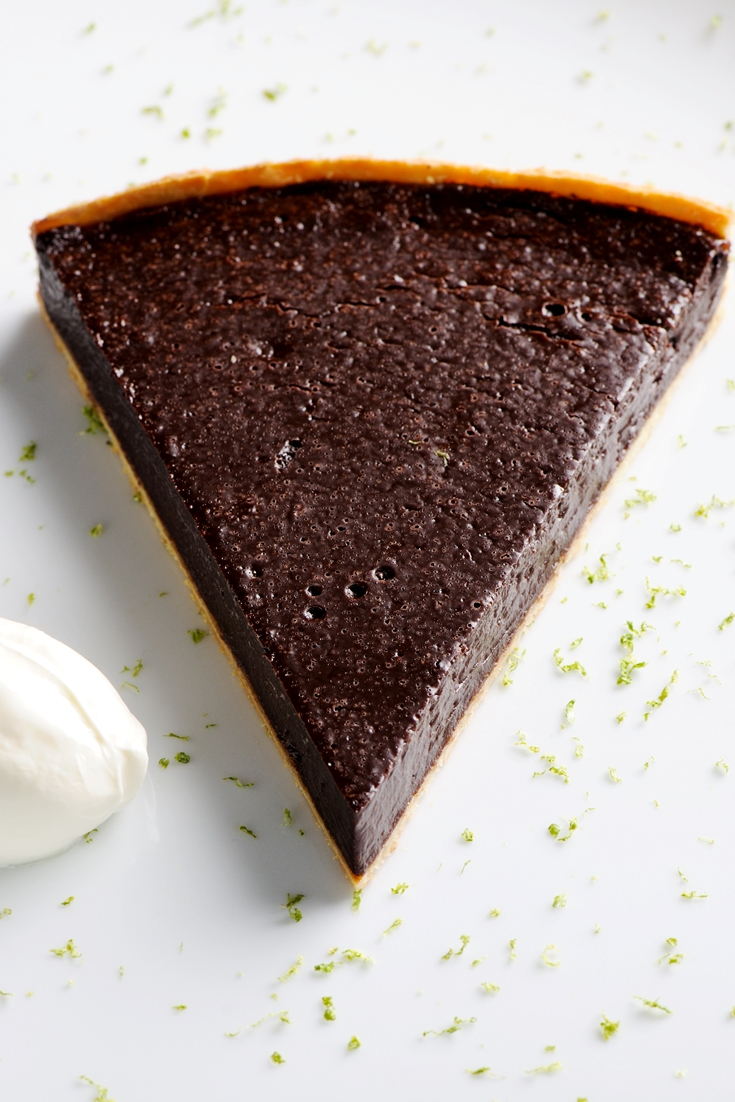 Chocolate Tart Recipe Great British Chefs