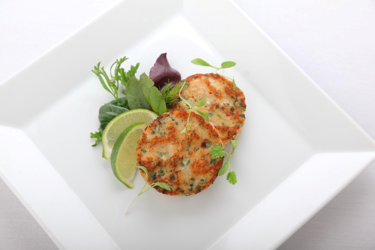 Easy Sweet Potato Fish Cakes