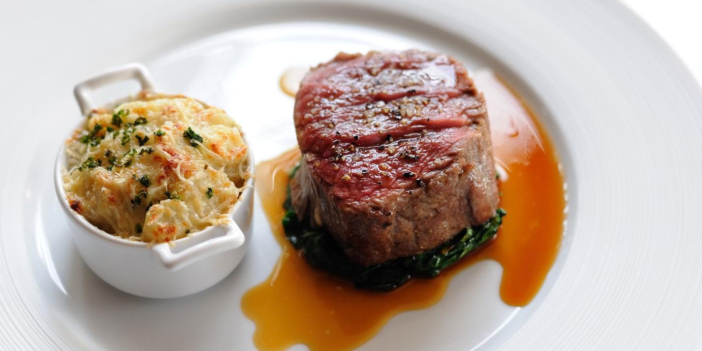 Beef Fillet Recipe Amp Jerusalem Artichoke Gratin Great British Chefs