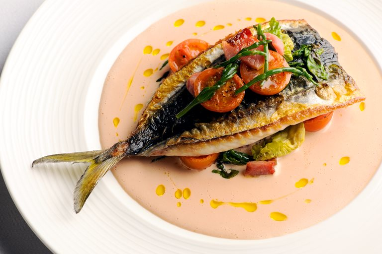 Mackerel Salad Recipe With Tomato Samphire Great