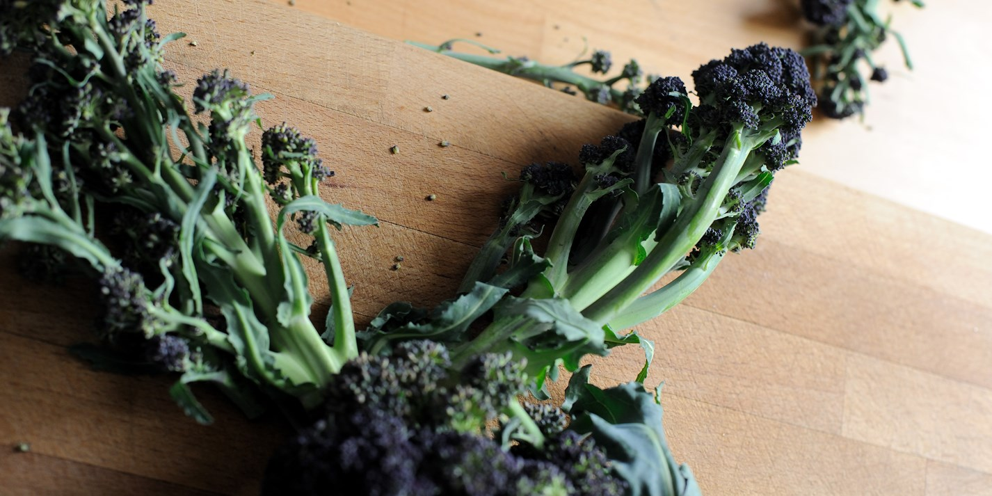 Purple sprouting broccoli recipes