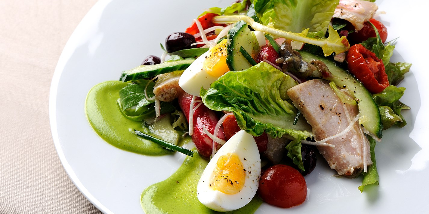 Salade Ni 231 Oise Recipe Great British Chefs