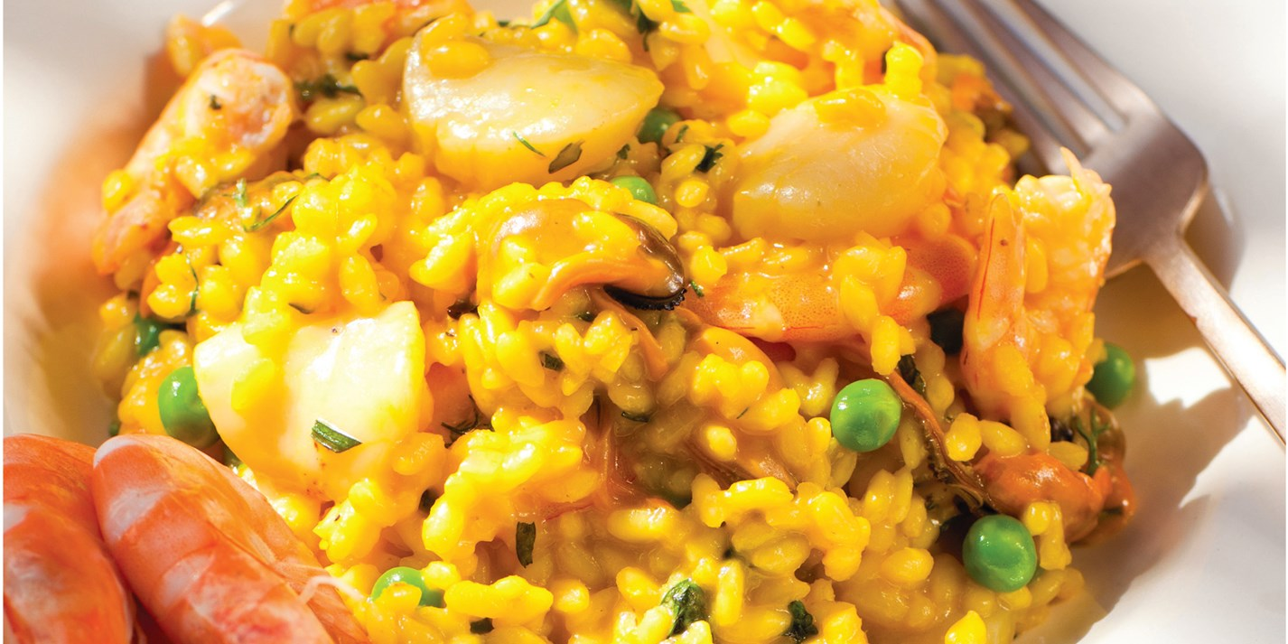 Seafood Risotto Recipe - Great British Chefs