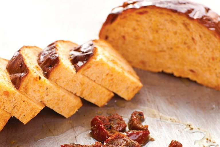 Sun-dried tomato bread