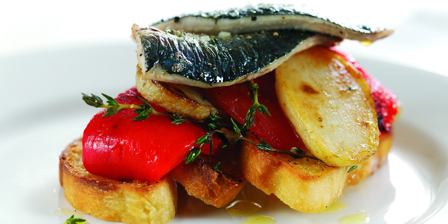 Grilled Sardines Recipe With Foccacia Bread Great