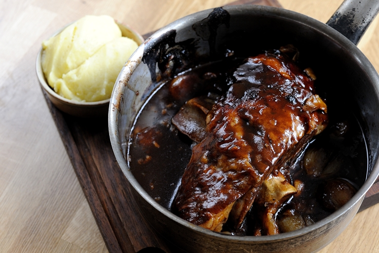 Slow Braised Lamb Shoulder Recipe Great British Chefs