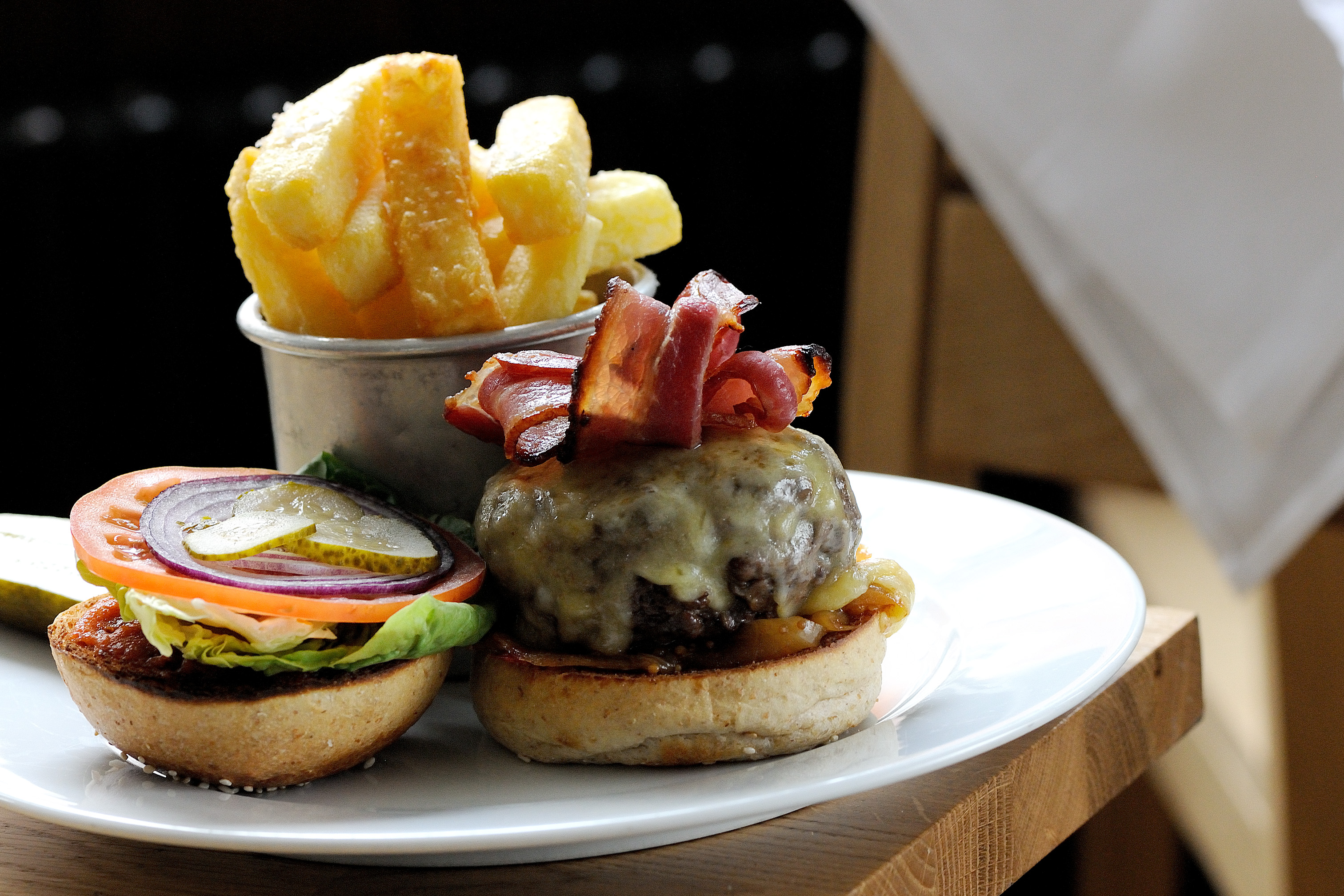 Cheeseburger Recipe With Caramelised Onions Great British Chefs