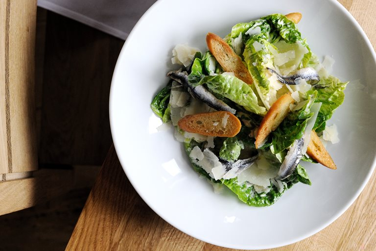 Chicken Caesar Salad Recipe Great British Chefs