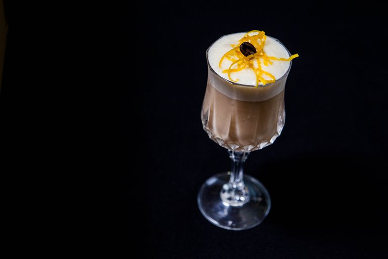 Oaxaca coffee cocktail