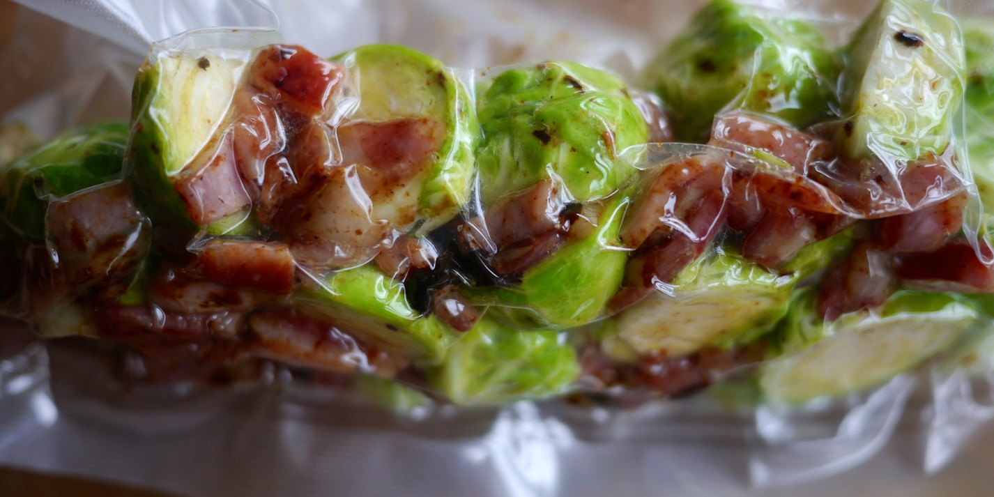 How to cook Brussels sprouts sous vide