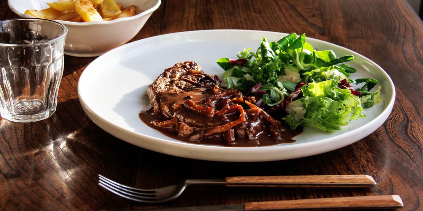 Steak In Chocolate And Coffee Sauce Recipe Great British Chefs