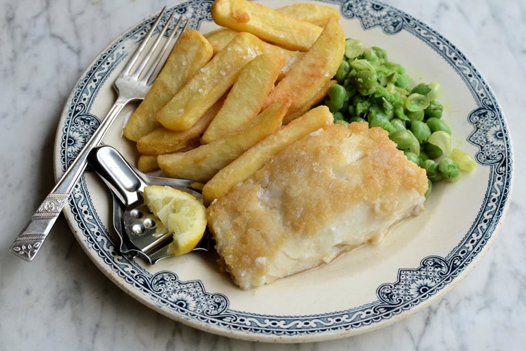 Gluten-free fish and chips