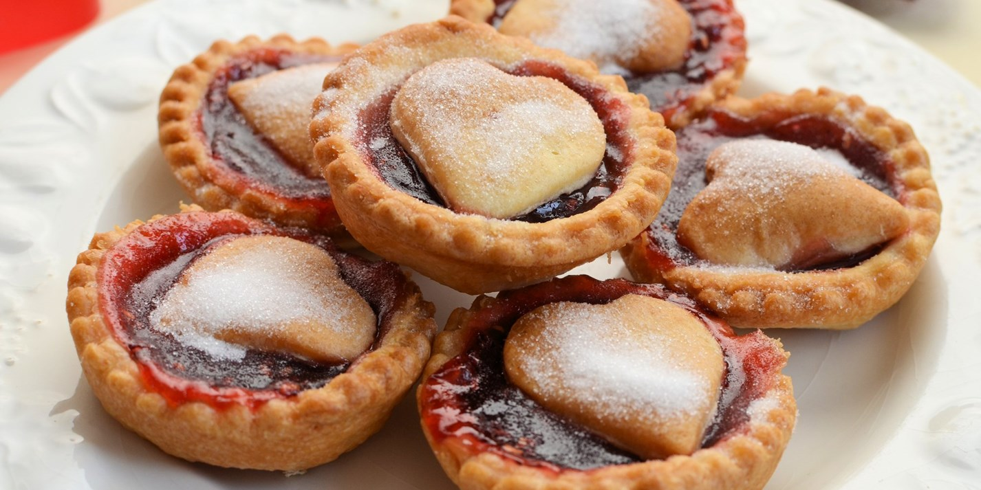 Queen Of Hearts Jam Tarts Recipe Great British Chefs