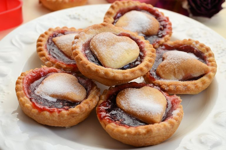 Queen of Hearts jam tarts