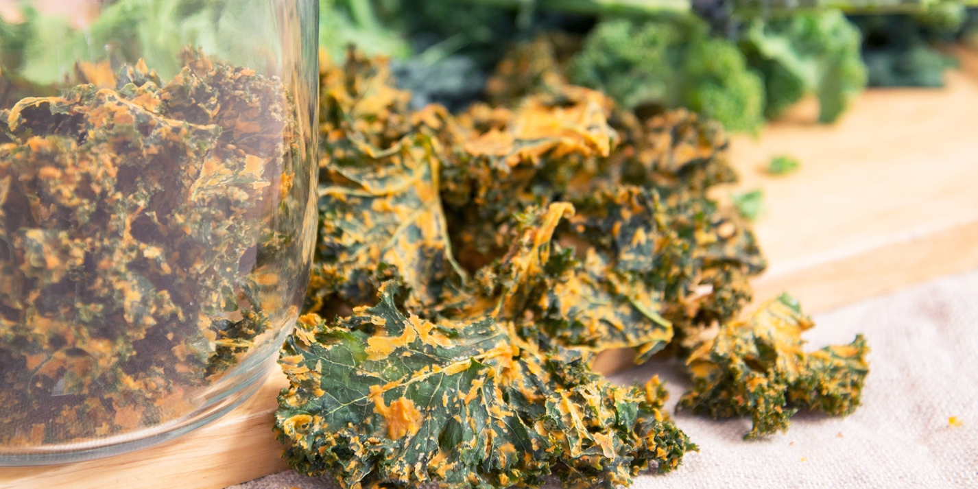 How to make kale crisps