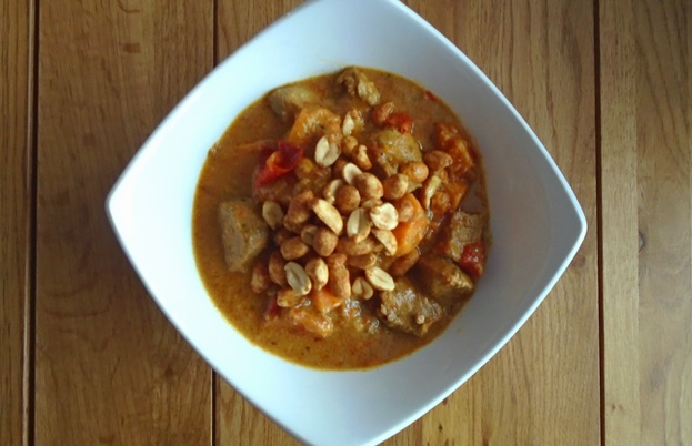 West African Pork and Peanut Stew