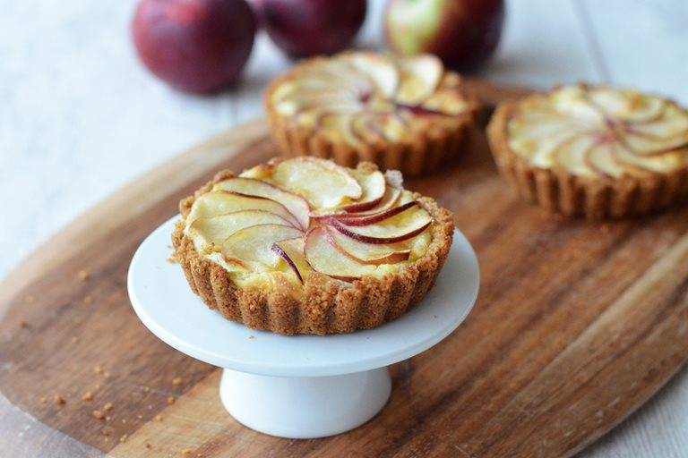 Apple Custard Tart Recipe Great British Chefs