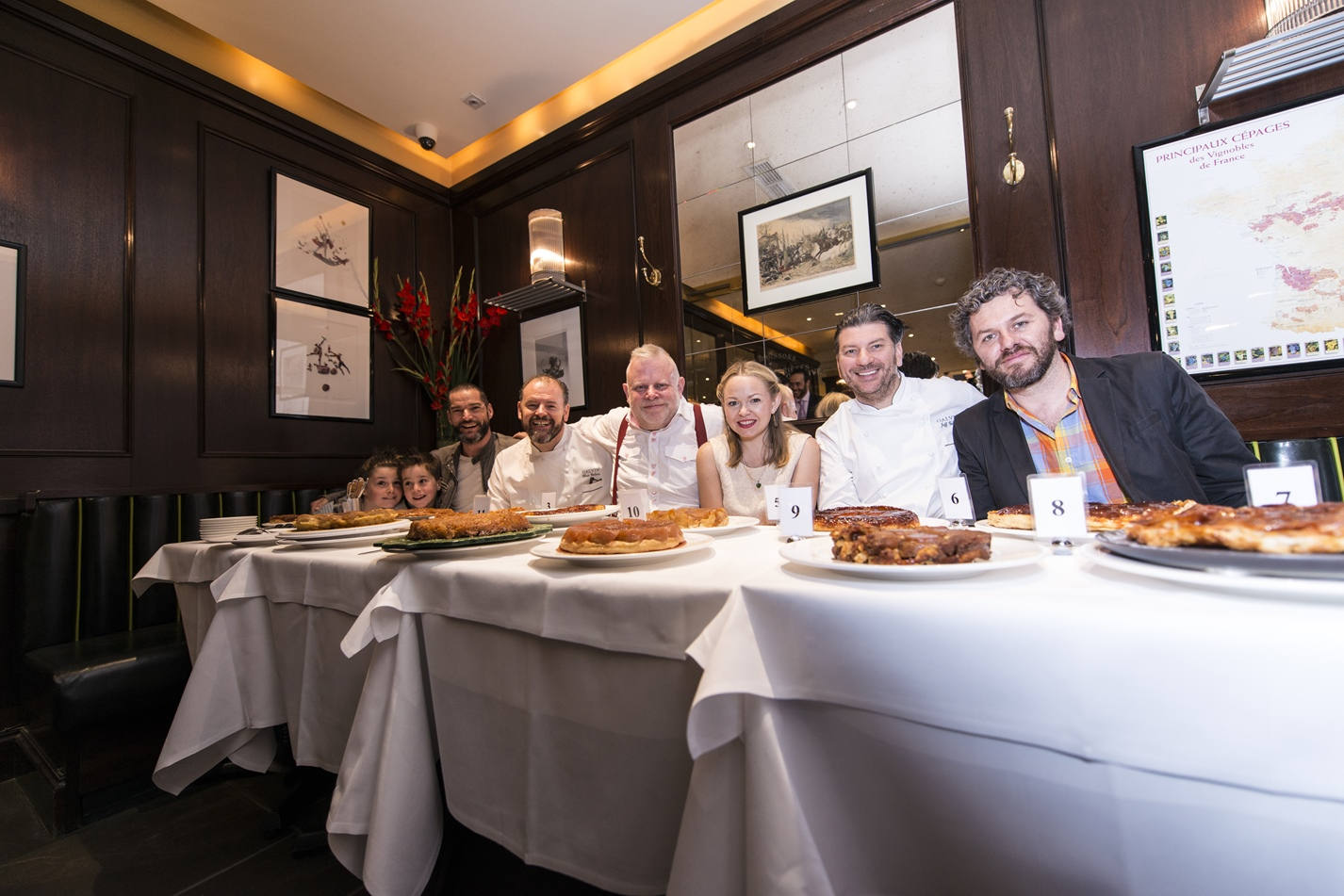 Galvin brothers tarte tatin competition judges