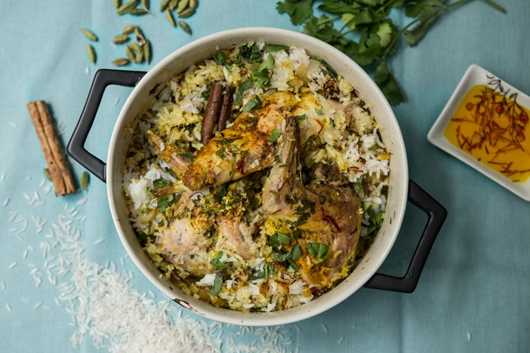 Rabbit biryani recipe