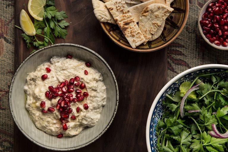 Moutabal recipe - Great British Chefs