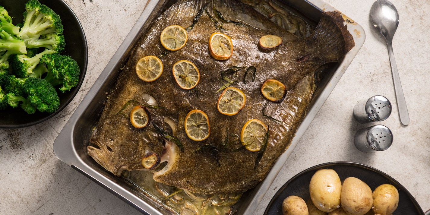 How to roast a whole turbot
