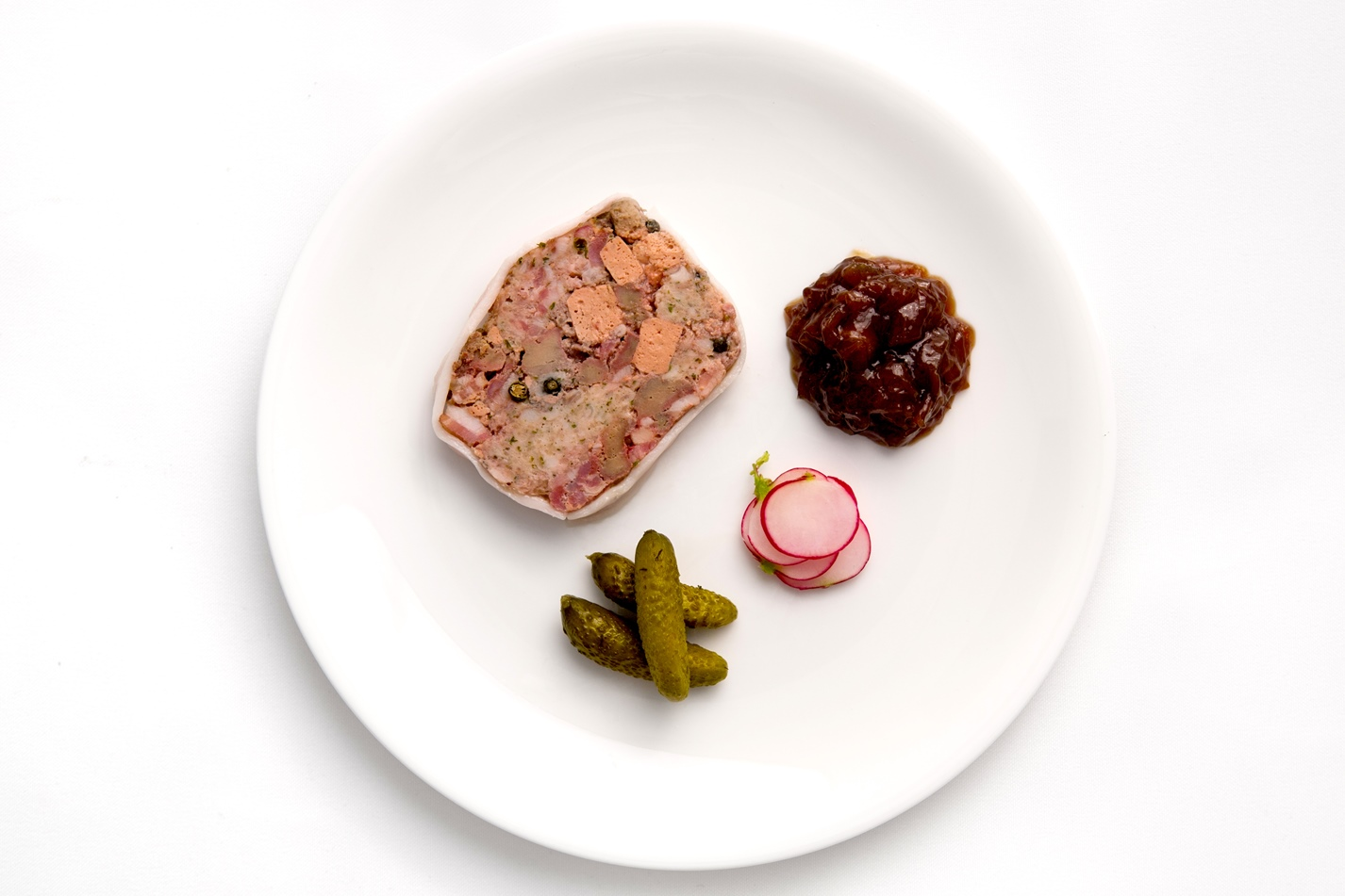 Terrine of calves liver