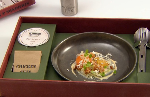 Adam Simmonds' Great British Menu starter