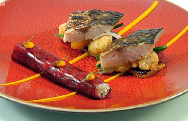 Richard's mackerel dish